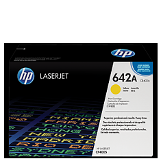 HP 642A Yellow Toner CB402A טונר צהוב