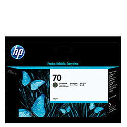 HP 70 Matte Black Ink C9448A ראש דיו שחור