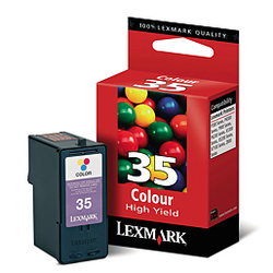 LEXMARK 18C0035 35XL color ink ראש דיו צבעוני