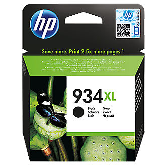 HP 934XL C2P23AE black ink ראש דיו שחור