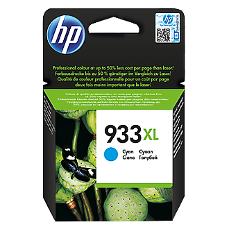 HP 933XL CN054AE cyan ink ראש דיו כחול