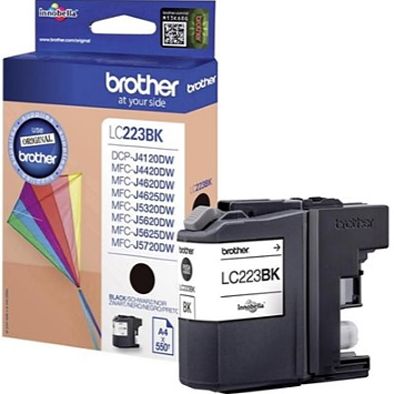 BROTHER LC-223BK black ink ראש דיו שחור