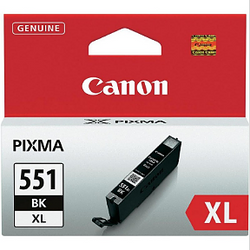 CANON CLI-551BK XL black ink ראש דיו שחור