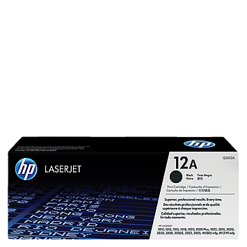 HP 12A Black Toner Q2612A טונר שחור