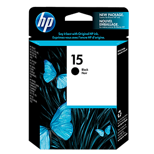 HP 15 Black Ink C6615D ראש דיו שחור