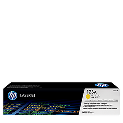 HP 126A Yellow Toner CE312A טונר צהוב