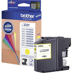 BROTHER LC-223Y yellow ink ראש דיו צהוב