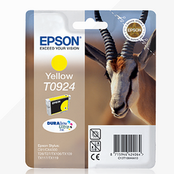 EPSON T07924 yellow ink ראש דיו צהוב