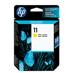 HP 11 Yellow Ink C4838A ראש דיו צהוב
