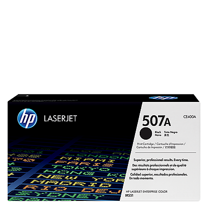 HP 507A Black Toner CE400A טונר שחור