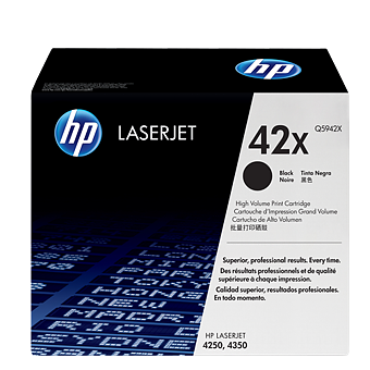 HP 42X Black Toner Q5942X טונר שחור