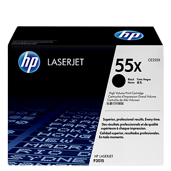 HP 55X Black Toner CE255X טונר שחור