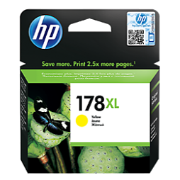 HP 178XL yellow ink CB322HE ראש דיו צהוב