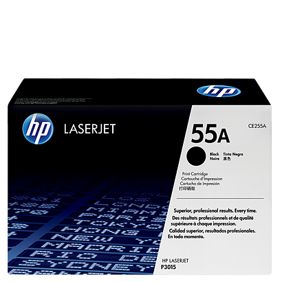 HP 55A Black Toner CE255A טונר שחור