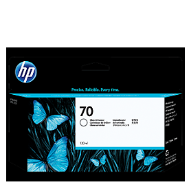 HP 70 Gloss Enhancer Ink C9459A ראש דיו גלוס