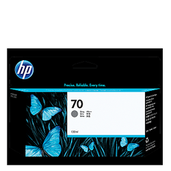 HP 70 Gray Ink C9450A ראש דיו אפור