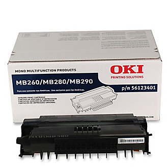 OKI MB280 black toner טונר שחור