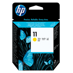 HP 11 Yellow ink C4813A ראש דיו צהוב