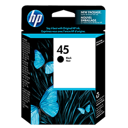 HP 45 Black Ink 51645A ראש דיו שחור