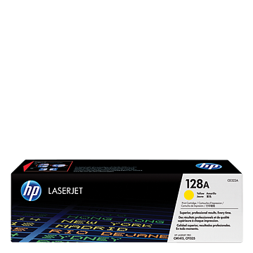 HP 128A Yellow Toner CE322A טונר צהוב