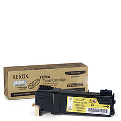 XEROX 106R01337 6125 yellow toner טונר צהוב