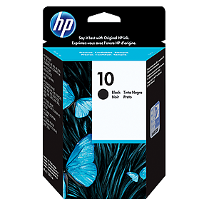 HP 10 Black Ink C4844A ראש דיו שחור