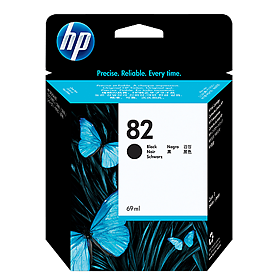 HP 82 Black Ink CH565A ראש דיו שחור