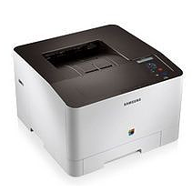 SAMSUNG CLP-415N laser color printer מדפסת