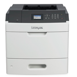 LEXMARK MS810DN b&w duplex laser printer מדפסת שחור-לבן
