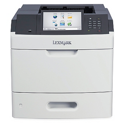 LEXMARK MS 812DE b&w duplex laser printer מדפסת שחור-לבן