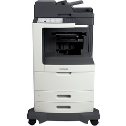 LEXMARK MX 810DFE b&w laser printer מדפסת
