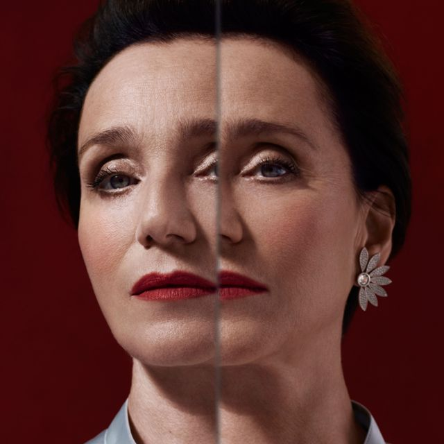 Kristin Scott Thomas lands Burberry's Christmas campaign