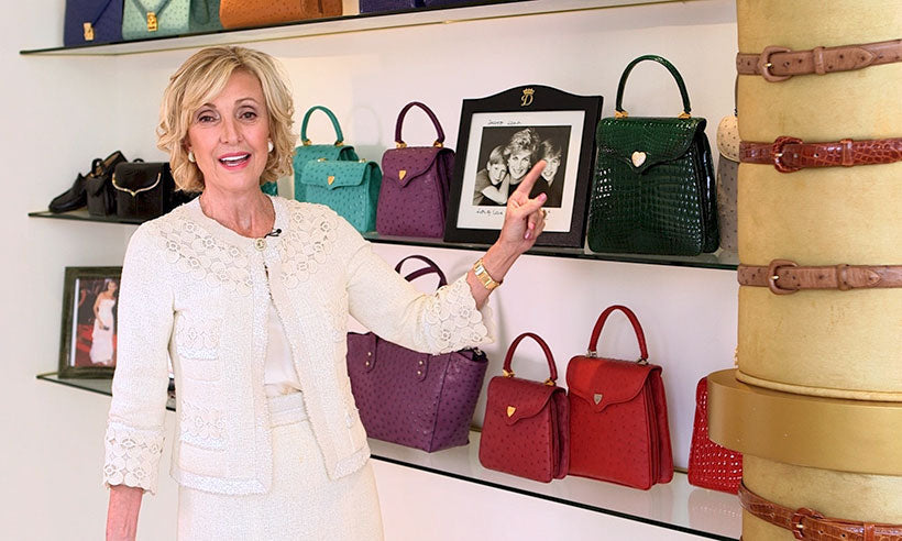 Diamond-encrusted handbag designed exclusively for Princess Diana to be sold at charity auction