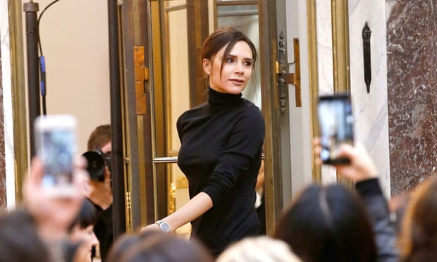 Victoria Beckham bids farewell to New York fashion week on a high