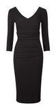 The Chloe Black fitted dress