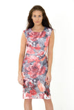 The Carrie floral print summer dress