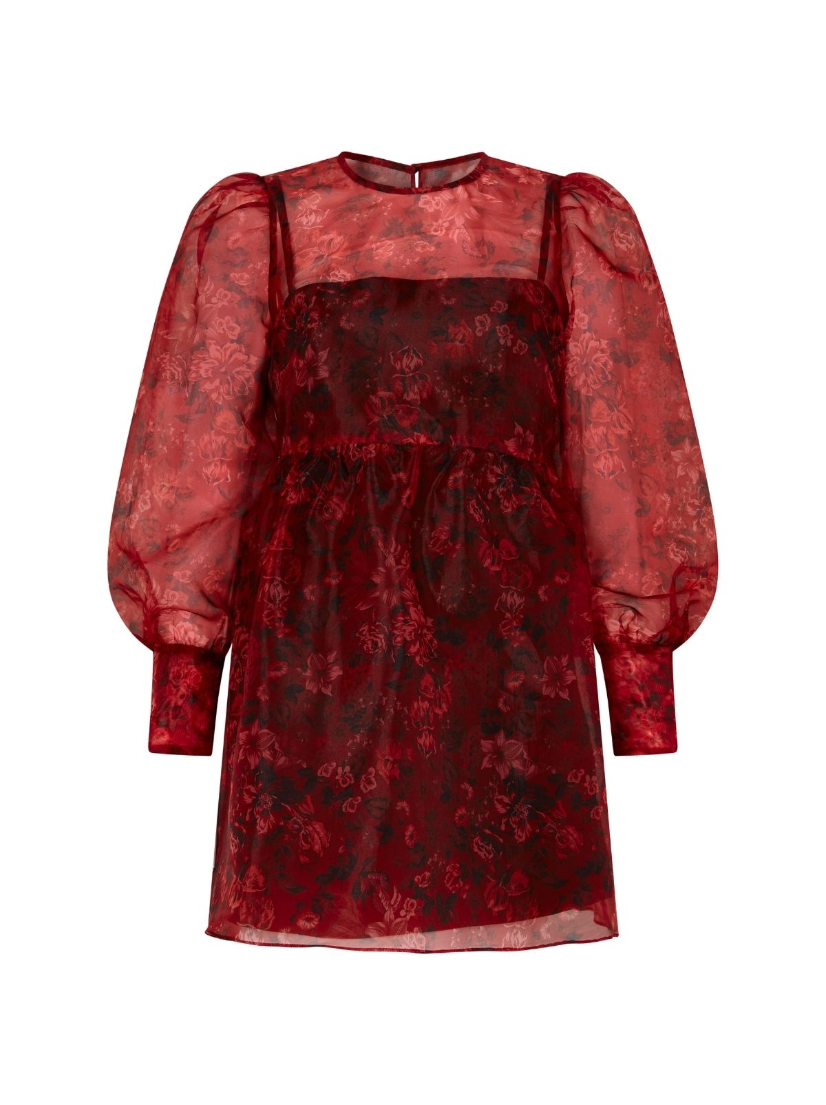 Alice Floral Mini Smock Dress by KITRI Studio