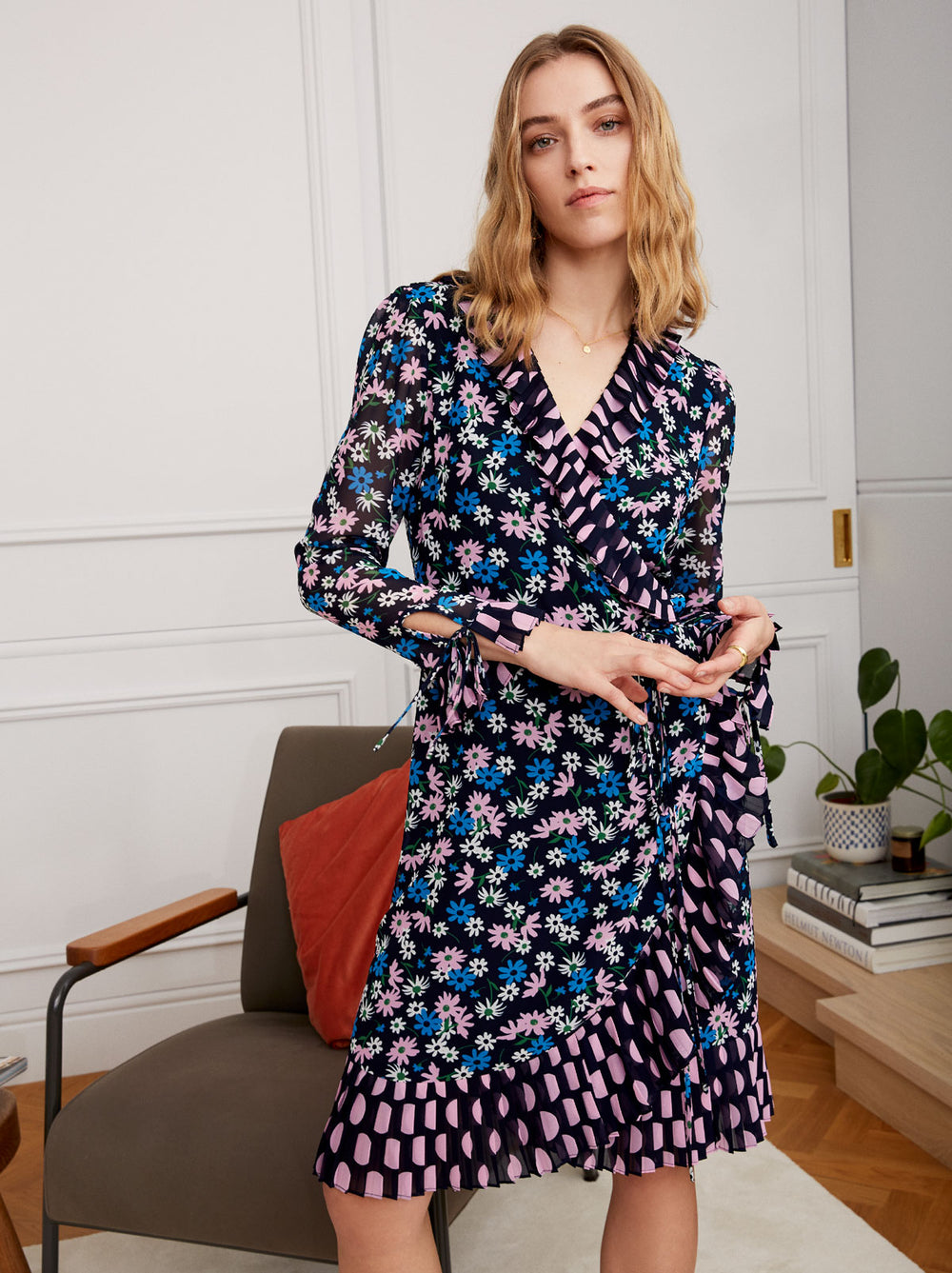 Anastasia Floral Wrap Dress