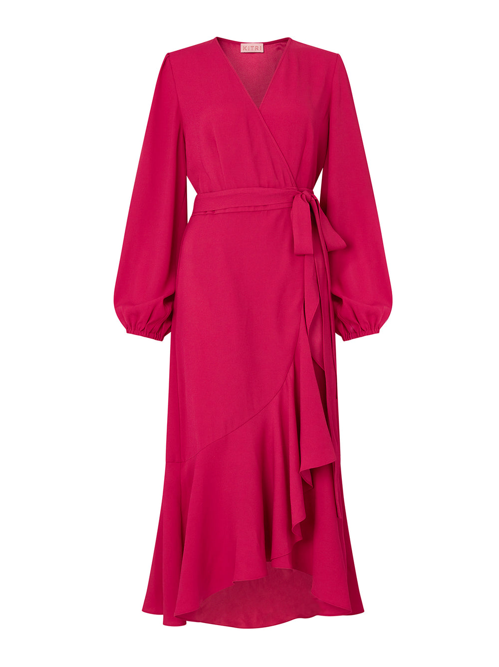 Anissa Berry Wrap Dress by KITRI Studio
