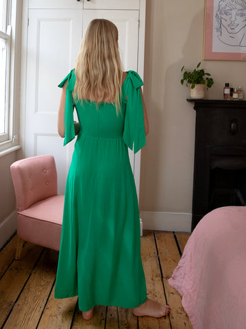 Leanne Green Smocked Dress