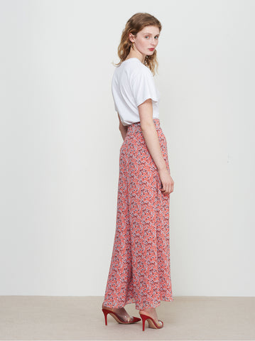 Lucille Ditsy Print Palazzo Trousers by KITRI Studio