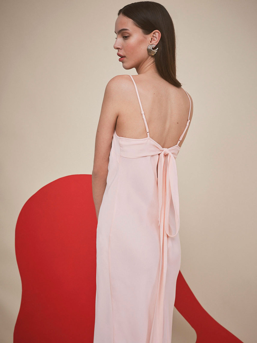 Ondine Pink Slip Cocktail Dress by KITRI Studio