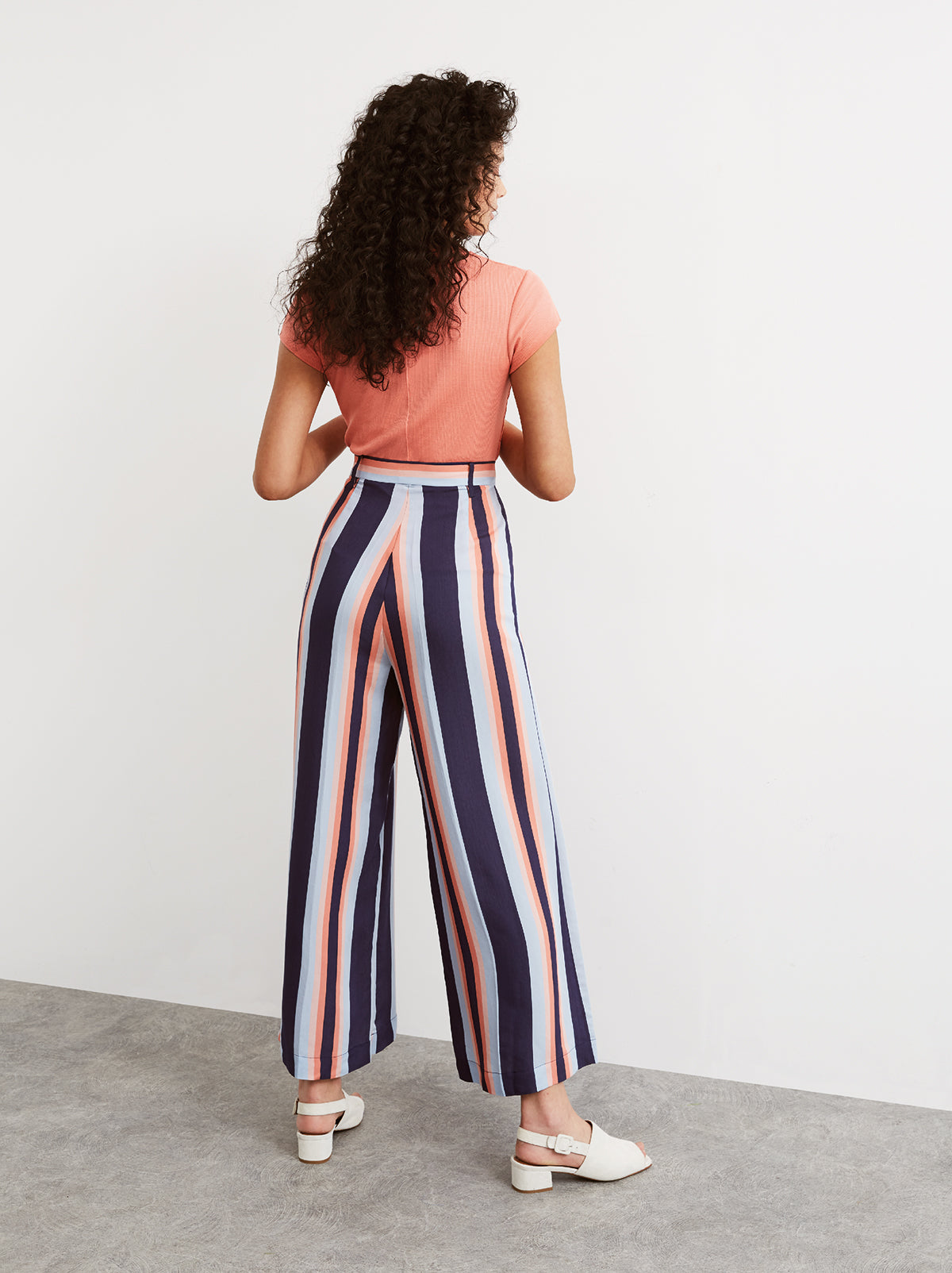 Talia Wide Leg Trousers