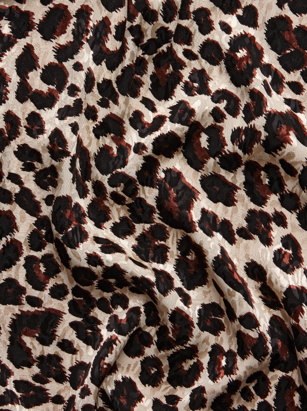 Aurelie Leopard Print Feather Wrap Dress