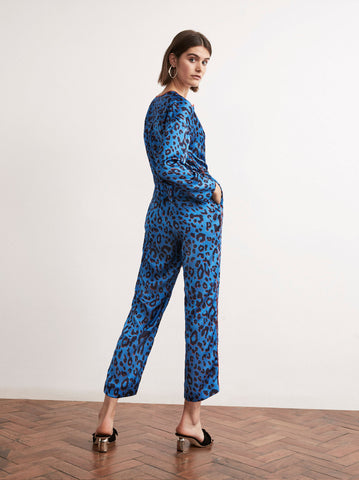 Lena Animal Print Jumpsuit by KITRI Studio
