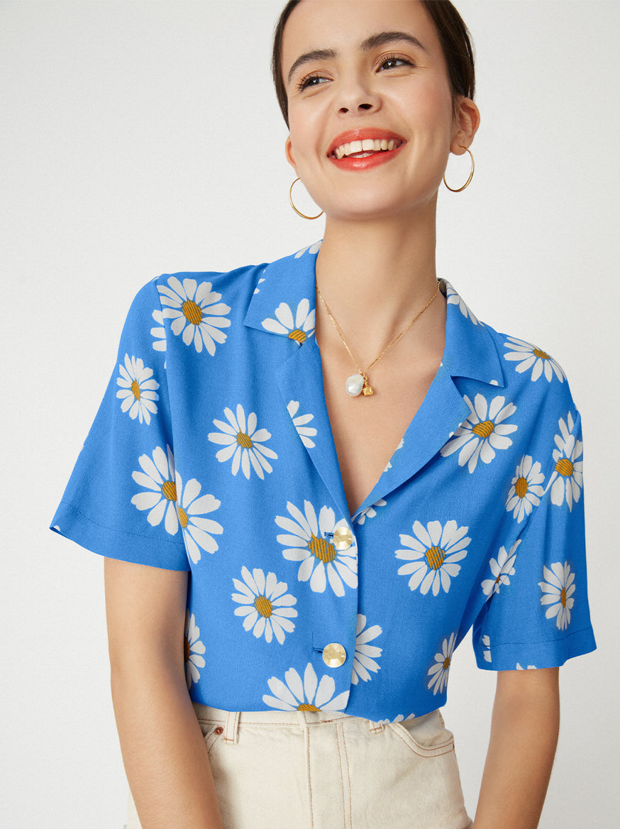 Tammy Floral Print Top by KITRI Studio