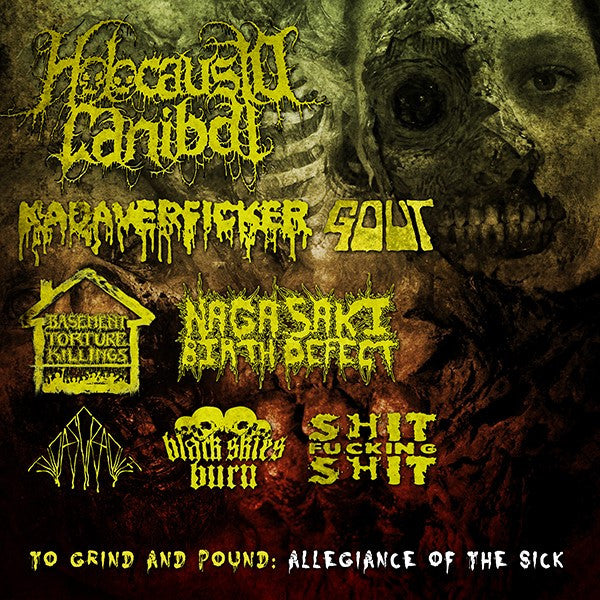 Holocasuto Canibale - Allegiance of the sick 7 way split