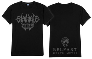 Strangle Wire - Logo T Shirt (Available for immediate shipping)