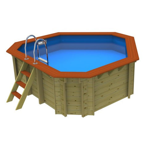 Plastica Richmond Wooden Corner Pool