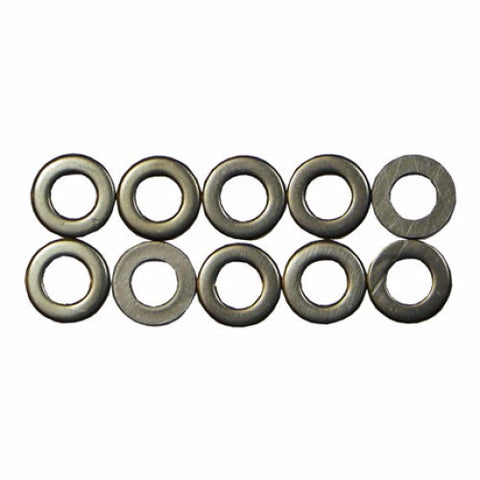 WAS102 M8 Flat Washers (10)